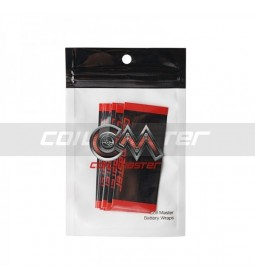 10 X BATTERY WRAPS 18650 - COIL MASTER