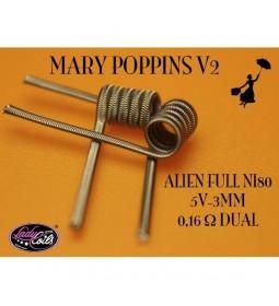 ALIEN MARY POPPINS V2 0.16Ω - LADY COILS