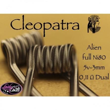 ALIEN CLEOPATRA 0.11Ω - LADY COILS