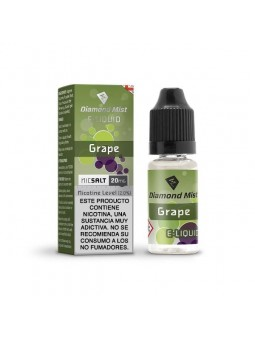 GRAPE 20MG NIC SALT 10ML - DIAMONT MIST