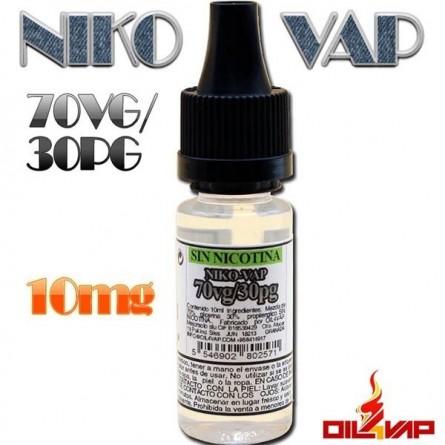 NIKOVAP 30PG/70VG 10MG 10ML - OIL4VAP