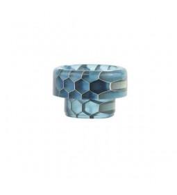 DRIP TIP 810 SNAKE SKIN LIGHT BLUE - BLITZ
