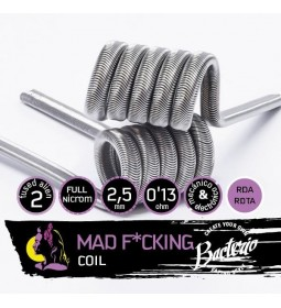 MAD F*CKING FULL NI80 0.13OHM - BACTERIO COILS