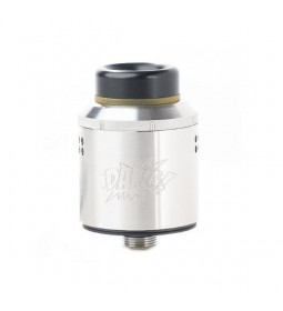 DANG RDA 24MM TPD SILVER - TWISTED MESSES & OHMBOY