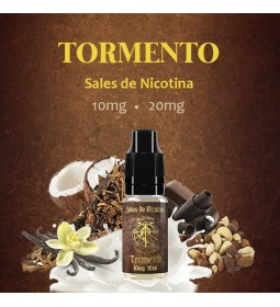 TORMENTO 10MG NIC SALT 10ML - ALQUIMIA PARA VAPERS