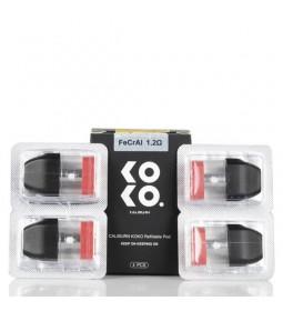 4 X CARTUCHO POD CALIBURN KOKO - UWELL