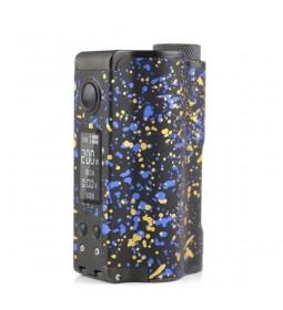 TOPSIDE DUAL SE SQUONKER 200W BOX MOD BLACK/BLUE - DOVPO