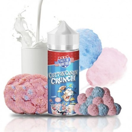 COTTON CANDY CRUNCH 100ML TPD - TASTE OF AMERICA